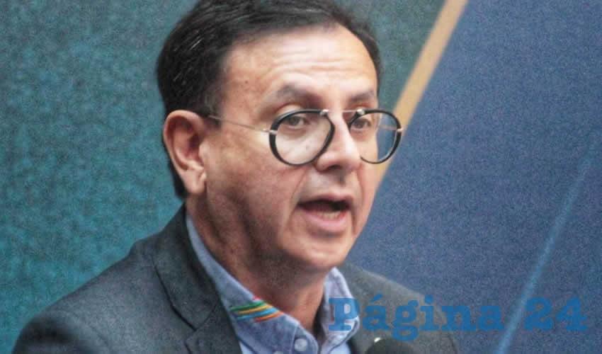 Juan Manuel Flores Femat, secretario general de Gobierno (Foto: Eddylberto Luévano Santillán)