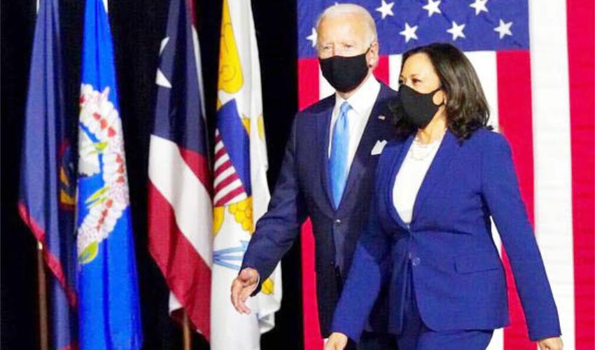 Joe Biden y Kamala Harris, la dupla presidencial de los demócratas (Foto: Tomada de Twitter @KamalaHarris)