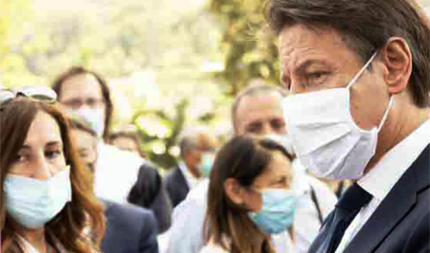 Muchos consideran una prueba de fuego para el gobierno de Giuseppe Conte esta etapa de convivencia con el virus (Foto: @GiuseppeConteIT)