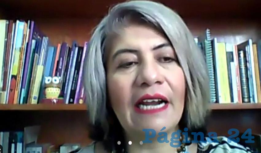 Verónica Aguilar Vázquez, académica de la Benemérita Universidad Autónoma de Zacatecas (BUAZ) (Foto: Cortesía)