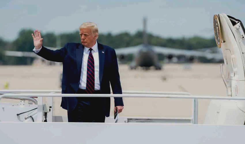 Donald Trump, presidente de EU (Foto: @WhiteHouse)