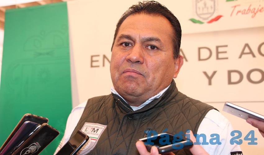 Ignacio Fraire Zúñiga, delegado del Instituto Nacional de Migración (INM) en Zacatecas (Foto Archivo Página 24)