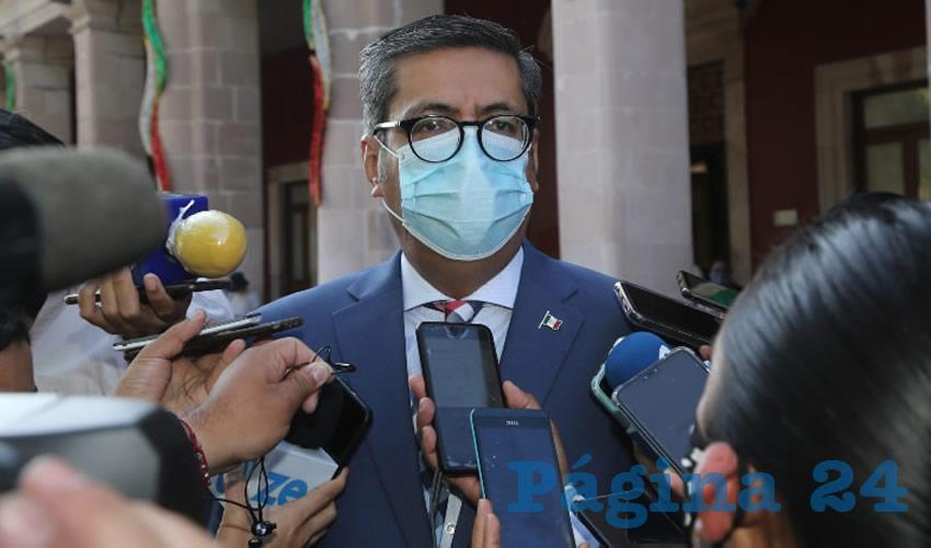 Jesús Figueroa Ortega, fiscal general del Estado (Foto: Eddylberto Luévano Santillán)