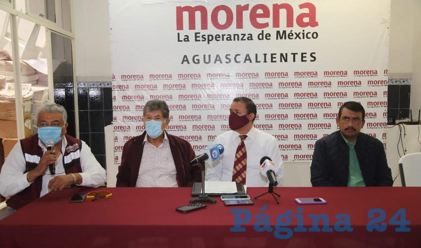 Morena aceptará que la mitad de sus candidatos no estén afiliados (Foto: Eddylberto Luévano Santillán)