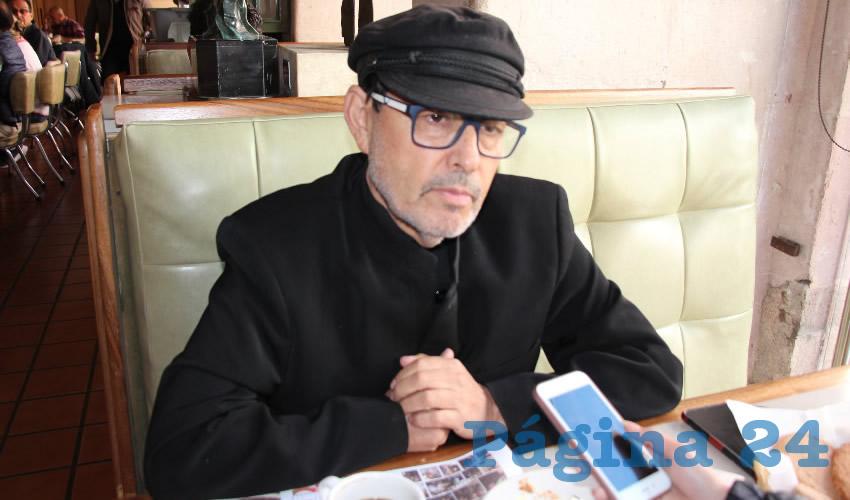 Jaime Enríquez Félix, presidente del Frente Cívico de Zacatecas (Foto Archivo Página 24)