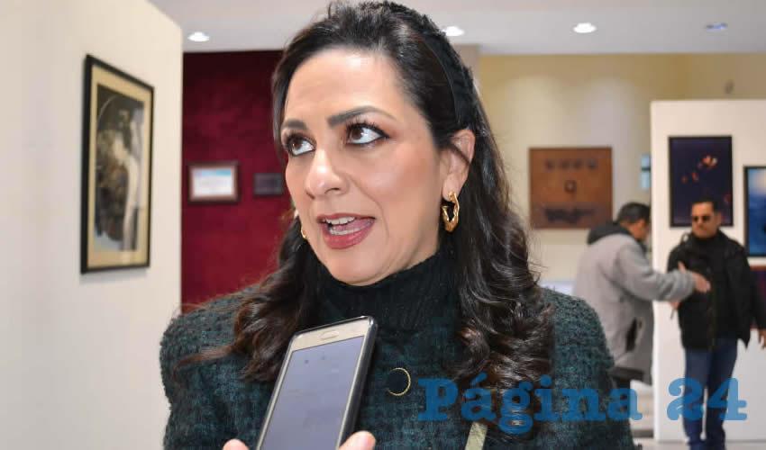 Lizbeth Márquez Álvarez, diputada local migrante (Foto Archivo Página 24)