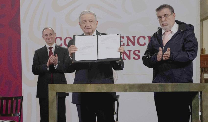 López Obrador Pide al Senado Consulta Contra Expresidentes