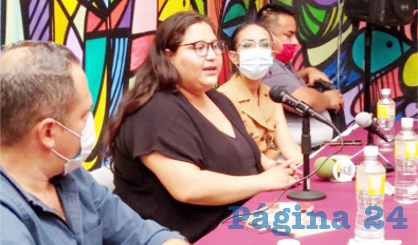"""""""Al juicio de muchos de nosotros Morena se está definiendo entre dos visiones de partido: o se convierte en un partido político más, con algunos vicios similares a los de otros partidos políticos, o se convierte en el partido de la transformación"""", explicó Citlalli Hernández, senadora con licencia/Foto: Cortesía"""