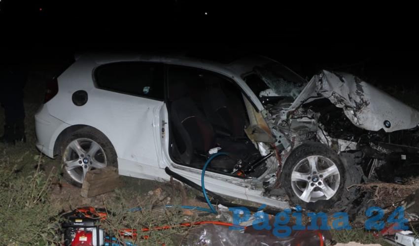 Carreterazo en El Llano: 4 Heridos