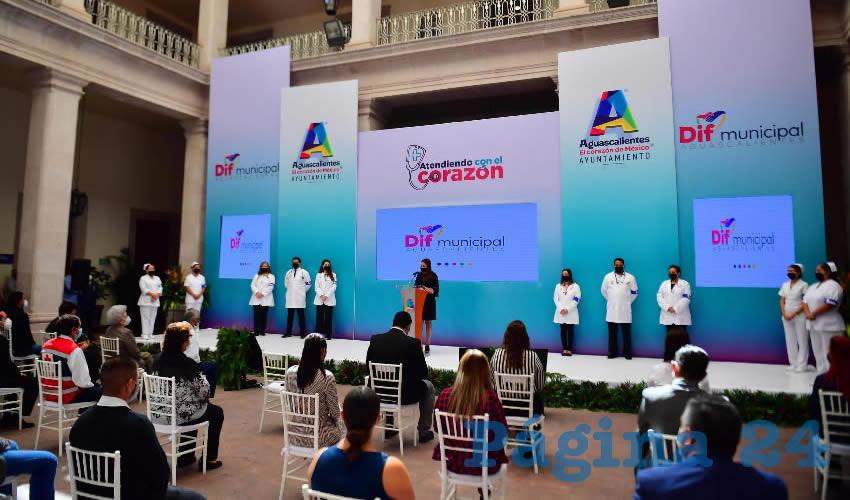 Presenta Tere Jiménez un Novedoso Programa de  Atención Médica a Domicilio Para Adultos Mayores