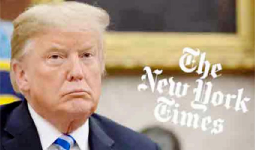 El presidente Donald Trump construyó un sistema de influencia presidencial directa que no tiene rival en la política moderna de Estados Unidos, según The New York Times (Foto: Especial)