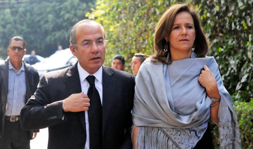 Felipe Calderón y Margarita Zavala: no pudieron justificar recursos por un millón 61 mil pesos que recibió su organización política a través de la aplicación electrónica Clip (Foto: Archivo/ Diego Simón Sánchez/Cuartoscuro)