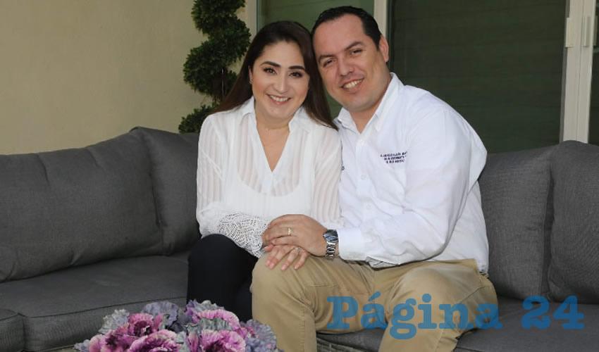Lleva ocho años de casada con Jaime Beltrán Martínez