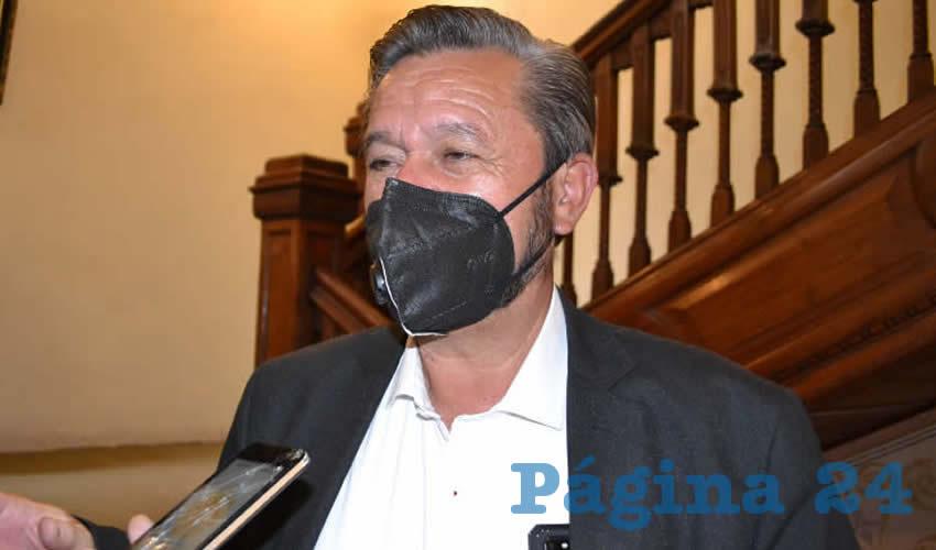 Desde el Senado se Impulsará un Mayor Presupuesto Para Zacatecas: Samuel Herrera