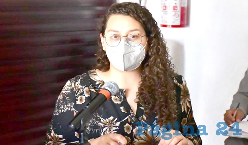 Gabriela Rodríguez Rodríguez, titular de la Secretaría de la Función Pública (SFP) (Foto Cortesía)