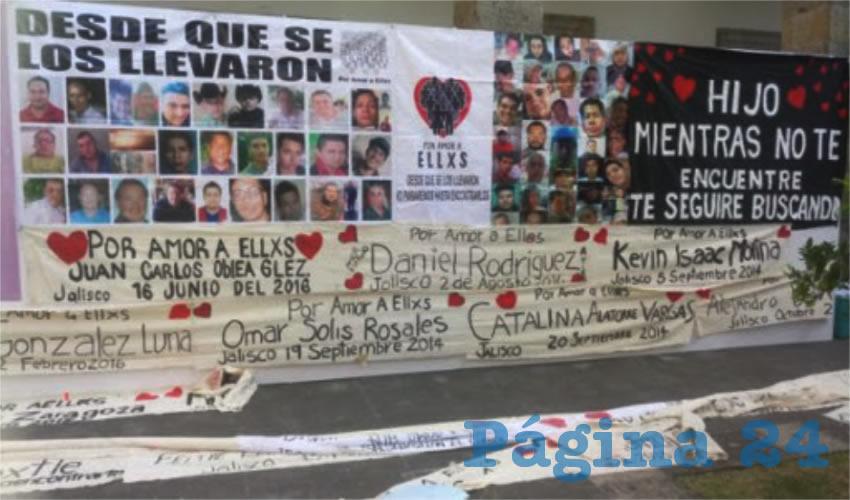Presume Alfaro cifras alegres sobre desaparecidos