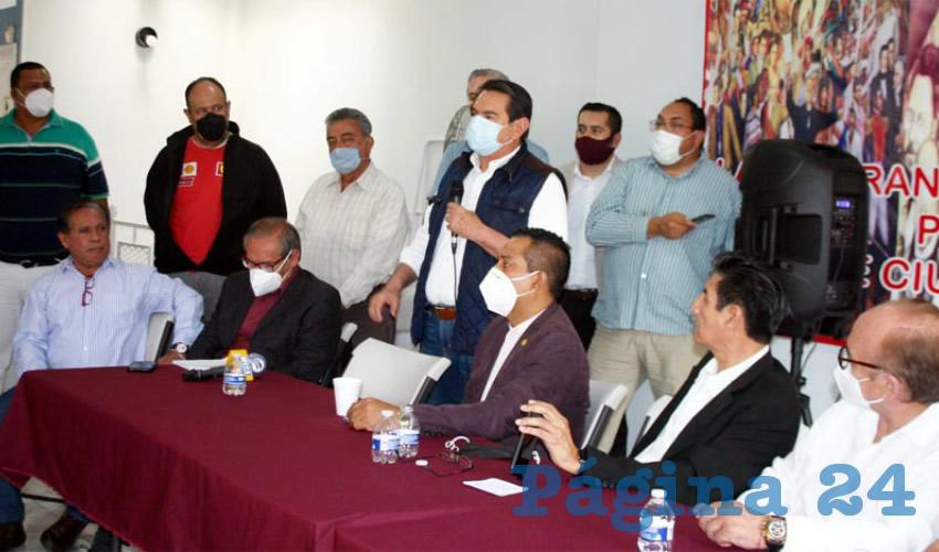 Militantes de Morena Jalisco cierran filas