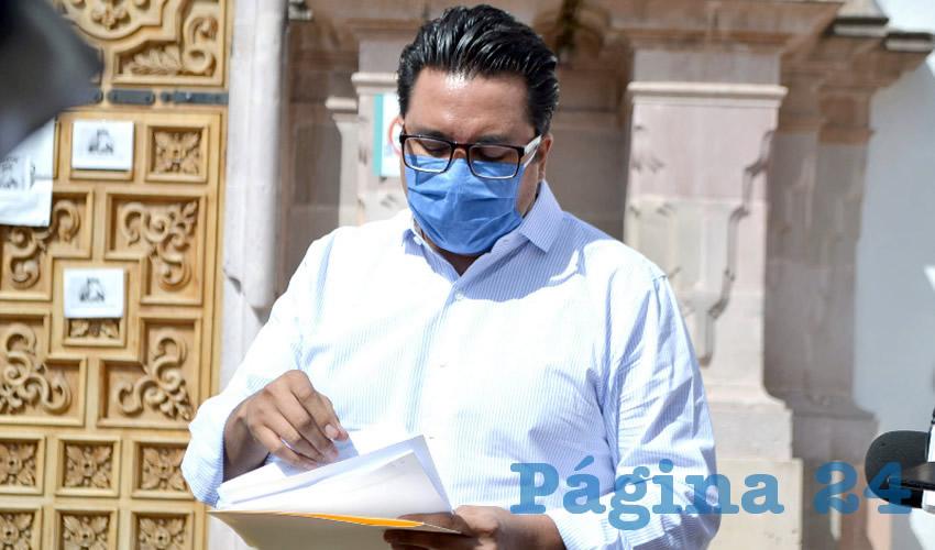 Omar Carrera Pérez, diputado local por el Movimiento Regeneración Nacional (Morena) (Foto: Archivo Página 24)