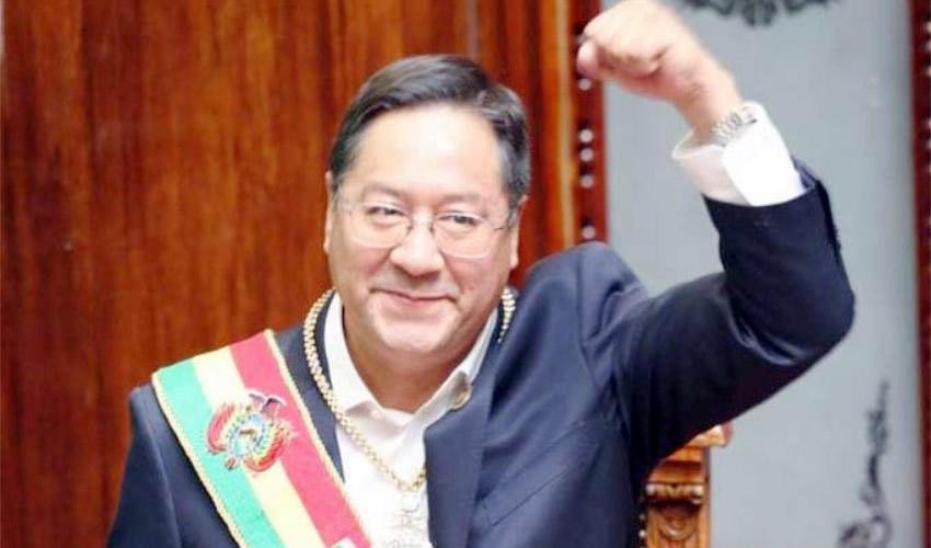 Bolivia retomó la senda de la democracia tras la asunción de Luis Arce a la presidencia (Foto: Twitter @LuchoXBolivia)