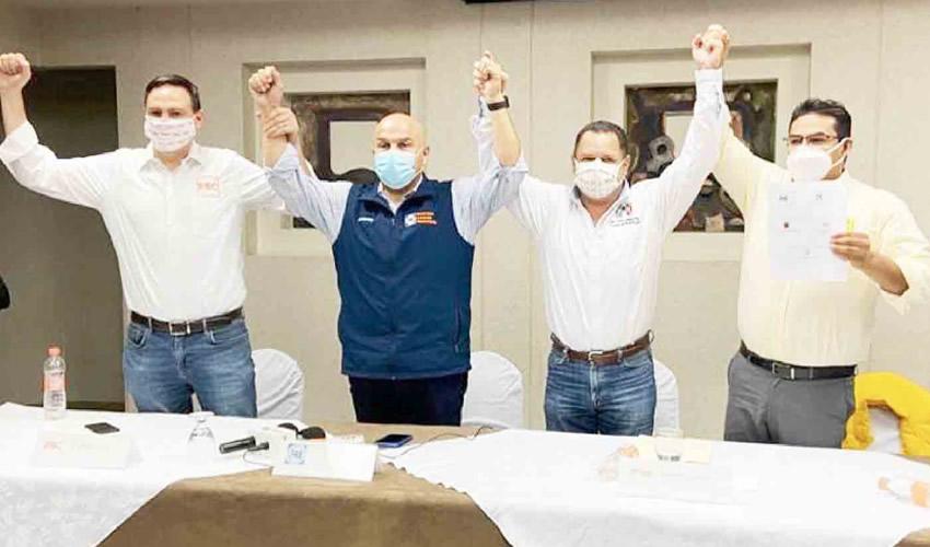 Se dio a conocer la conformación del Frente de Unidad para Baja California, cuyo objetivo es vencer a Morena en los comicios de 2021 (Foto: Especial)