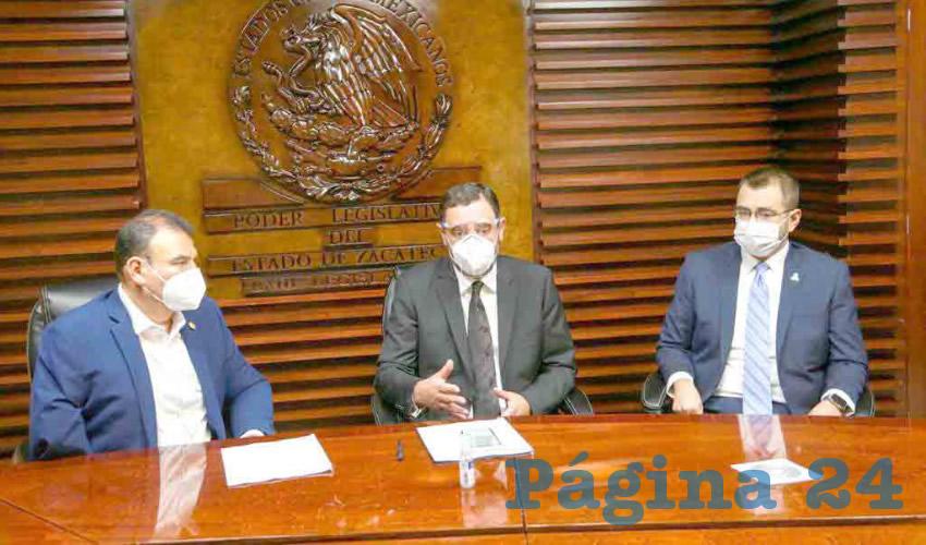 Entrega Gobernador a la Legislatura del Estado iniciativa de Ley que regula el uso de cubreboca y otras medidas para prevenir la transmisión de Covid-19