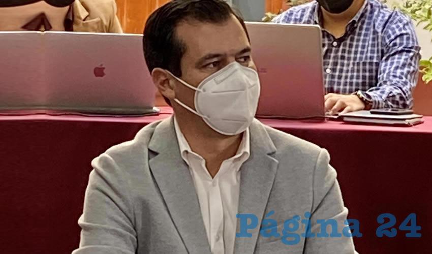 El titular de la Secretaría de Transporte, Diego Monraz Villaseñor, deslindó al gobierno emecista de Enrique Alfaro por el robo que se hace a diario contra los usuarios transporte público/Foto: Cortesía