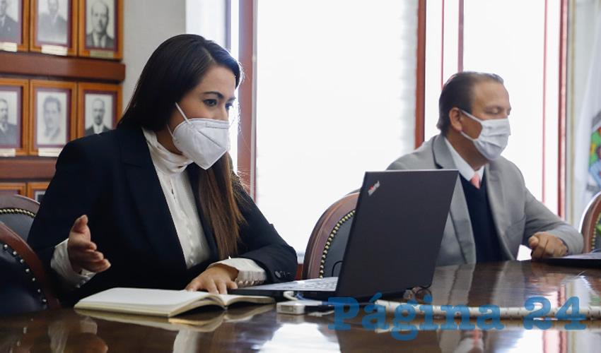 Tere Jiménez destacó que su administración implementa una política económica sensible a las necesidades de los empresarios y emprendedores