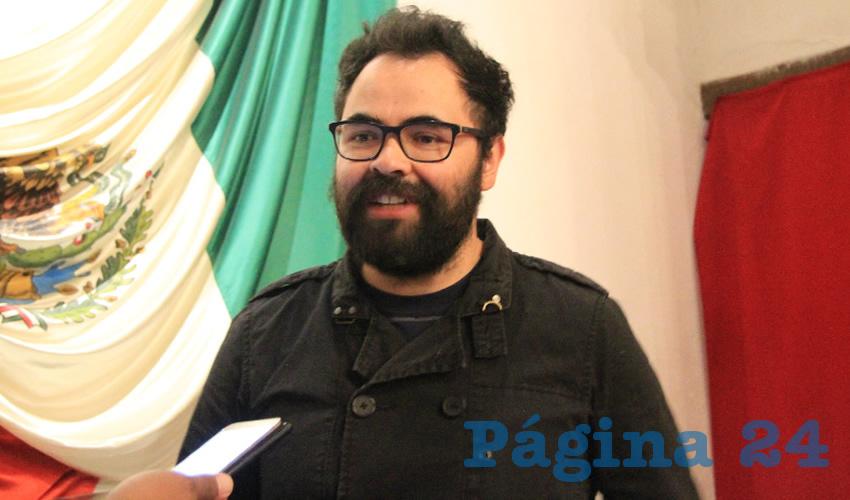 Juan Carlos Ochoa Valenzuela, director de la Biblioteca de Colecciones Especiales Elías Amador (Foto: Archivo Página 24)
