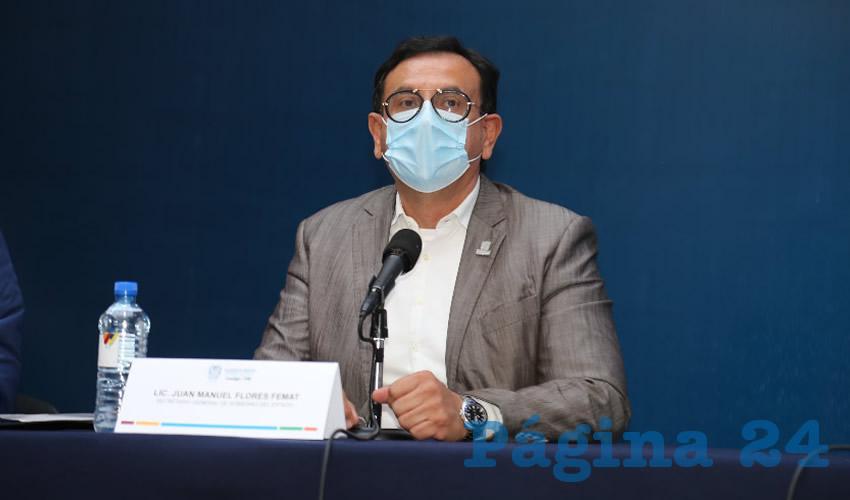 Los Hospitales ya Están Saturados; el Sistema de  Salud Está en Riesgo: Juan Manuel Flores Femat
