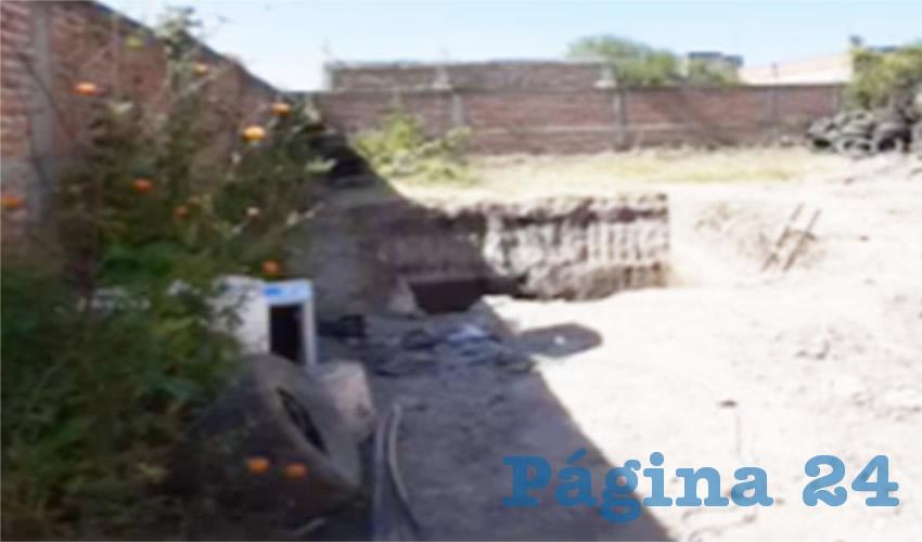 Aún continúan los trabajos que se realizan en un predio ubicado en la colonia El Sabino, en El Salto, donde hasta el momento han rescatado a 113 personas fallecidas sin identificar, así como dos cráneos y cuatro bolsas con indicios/Fotos: Captura de Video