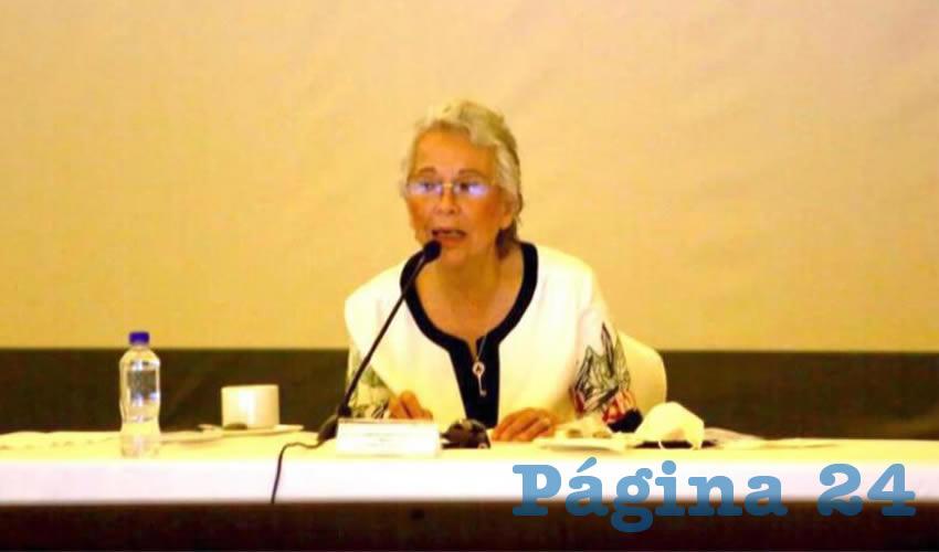 La secretaria de Gobernación, Olga Sánchez Cordero, encabezó la mesa de trabajo del Arranque Nacional de la Estrategia Coordinaciones Municipales Contra la Violencia y el Bienestar de las Mujeres