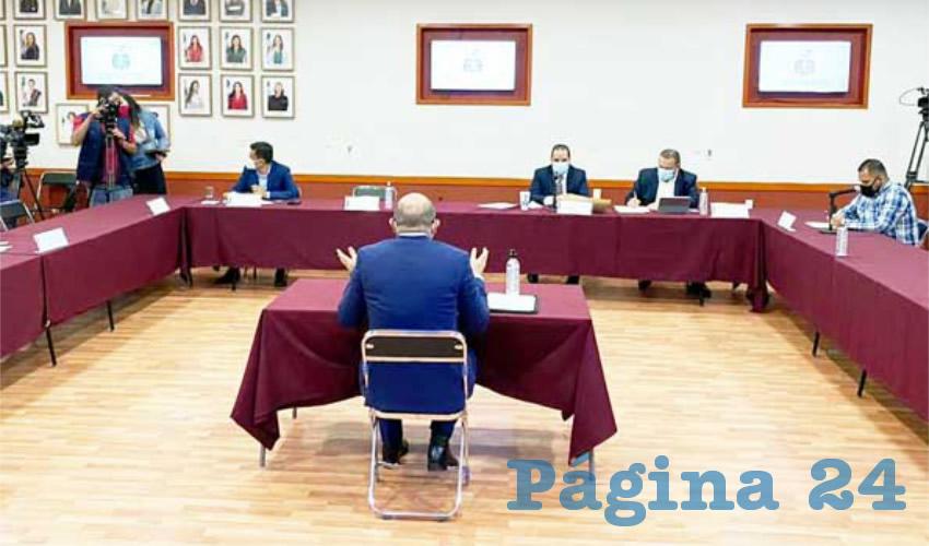 Aspirantes a magistraturas comparecen ante diputados