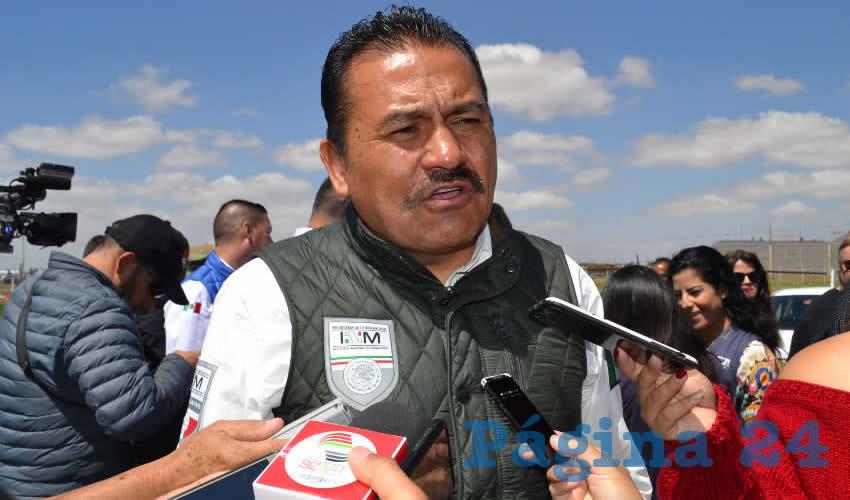 Ignacio Fraire Zúñiga, delegado estatal del Instituto Nacional de Migración (INM) (Foto: Archivo Página 24)
