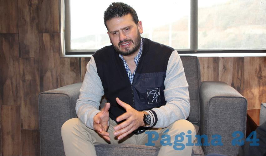 Cuauhtémoc Calderón Galván, empresario y político zacatecano (Foto: Archivo Página 24)