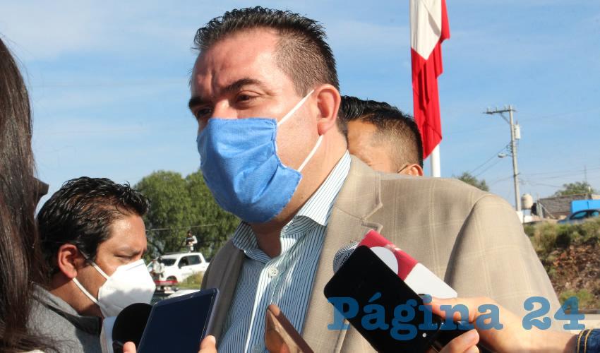Luis Fernando Maldonado Moreno, titular de la Secretaría de Agua y Medio Ambiente (SAMA) (Foto: Archivo Página 24)