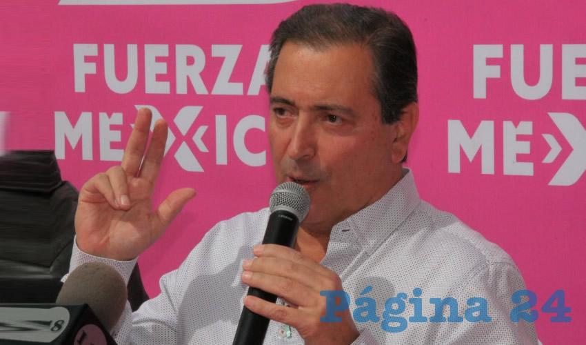 Luis Armando Reynoso Femat ... va por la alcaldía capitalina...