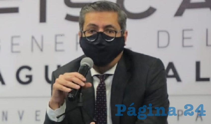 Jesús Figueroa Ortega, fiscal general del estado (Foto: Juan Fernando Reyes Ortega)