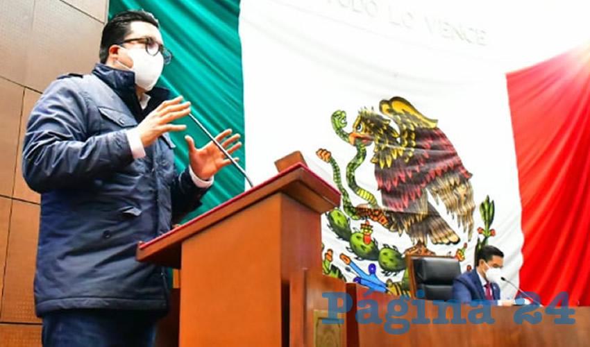 Omar Carrera Pérez, diputado local por el Movimiento Regeneración Nacional (Morena) (Foto: Cortesía)