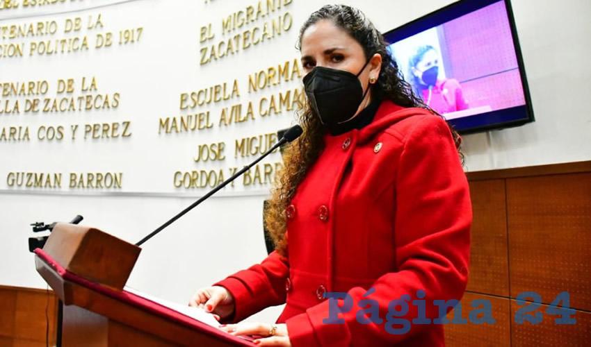 Mónica Leticia Flores Mendoza, diputada local por el Partido de la Revolución Democrática (PRD) (Foto: Cortesía)