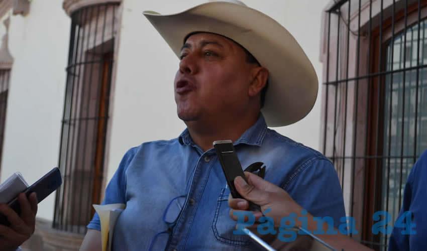 Fernando Galván Martínez, líder de grupos de frijoleros en la zona norte del estado de Zacatecas (Foto: Archivo Página 24)