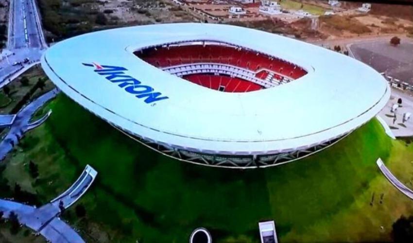 Los estadios Akron (foto) y Jalisco serán las sedes del Preolímpico