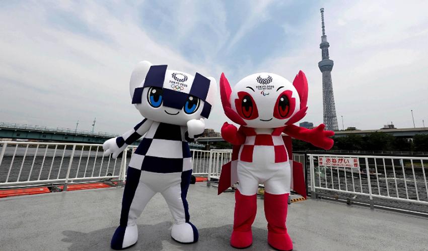 Miraitowa y Someity, mascotas de los Juegos Olímpicos de Tokio (Foto: Twitter @Tokyo2020)