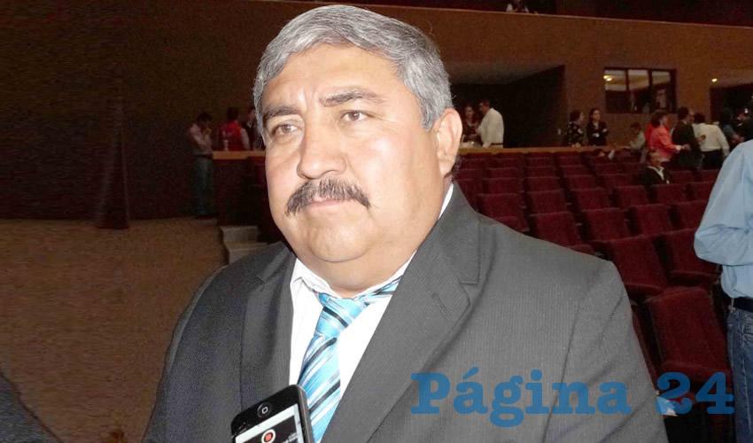 Eduardo Duque Torres, alcalde del municipio de Morelos (Foto: Archivo Página 24)