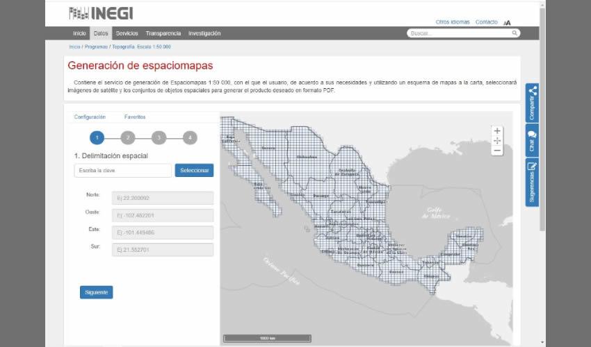 INEGI Mejora la Experiencia de los Usuarios en la Consulta de Información Topográfica