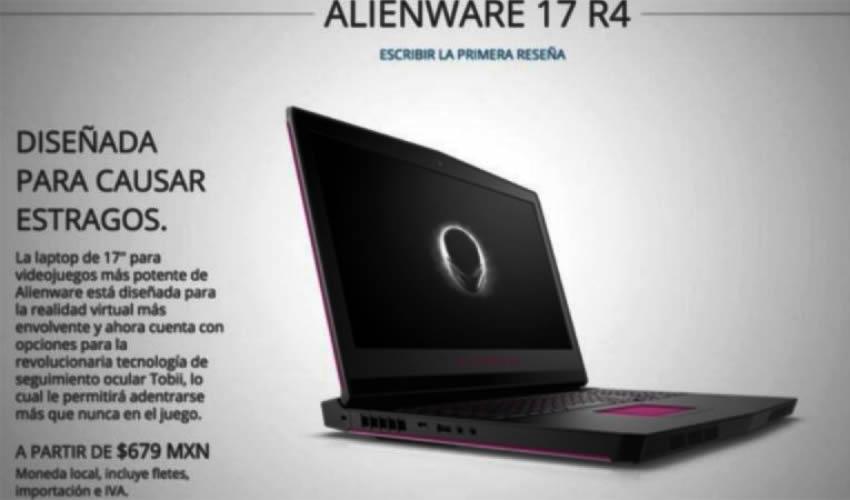 ¿Laptops Dell de a 679 pesos?