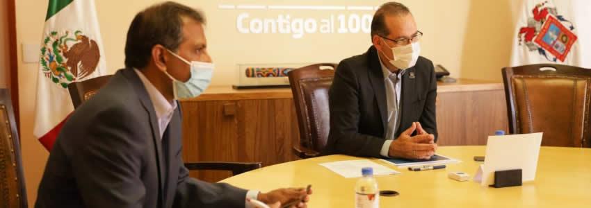 Se Reúne Gobernador con CEO de Marelli  Para Afianzar los Lazos de Colaboración