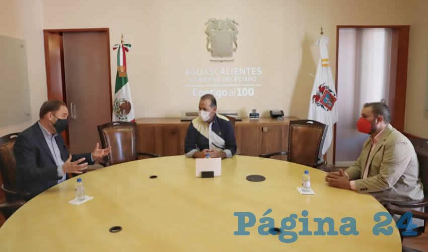 Acercamiento Permanente del Gobierno  Estatal con Empresarios de Aguascalientes