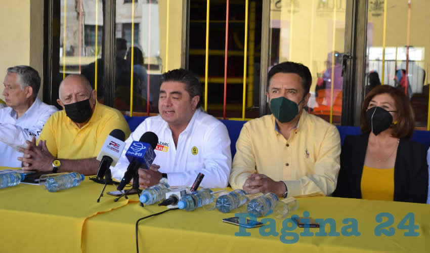 Luis Cházaro Plantea Unidad y Trabajo Electoral Para ser Oposición Contra Morena y Gobierno Federal