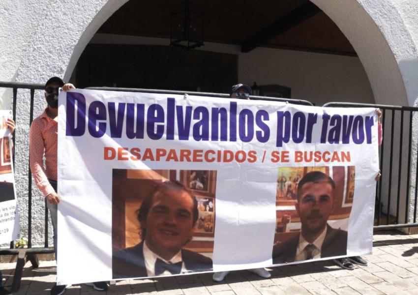 Liberan a Santiago y Arturo, hermanos desaparecidos