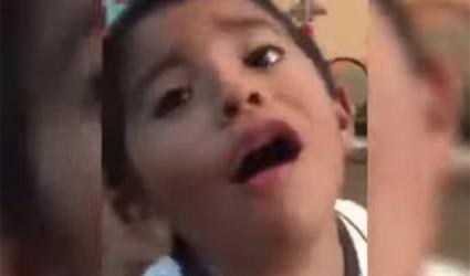 Niño Llora Cuando le Dicen que lo van a Llevar al PRI